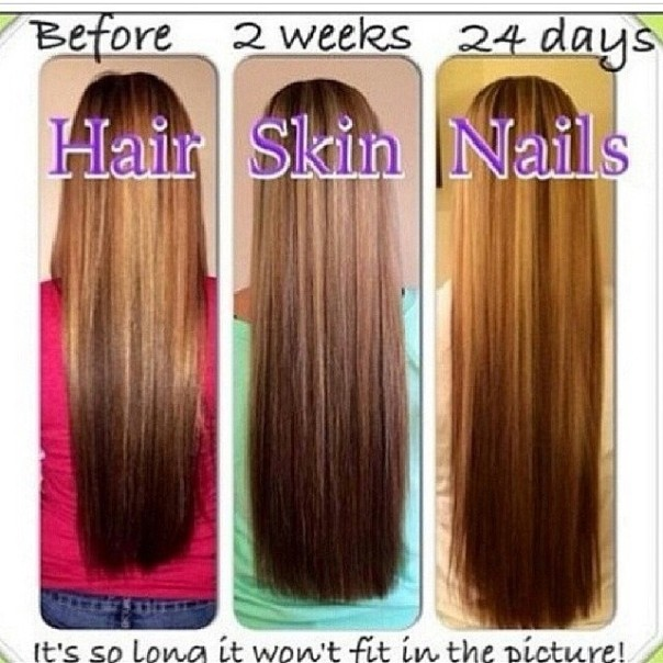Nature Bounty Hair Skin And Nails Gummies Before After - Popular ...